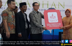 Halalbihalal Penguin, Risma Minta Anak-Anak Rajin Beribadah - JPNN.com