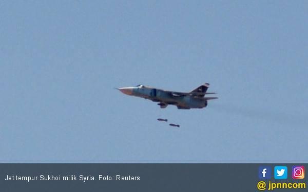 Makin Panas, Israel Tembak Jatuh Sukhoi Syria - JPNN.com