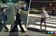 Setelah 49 Tahun, McCartney Kembali Sebrangi Abbey Road - JPNN.com
