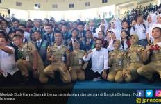 Ingin Bangka Belitung Maju, Mahasiswa Minta Ini ke Menhub - JPNN.com