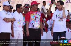 Jokowi - Mentan Jalan Sehat Bersama 1 Juta Warga Makassar - JPNN.com