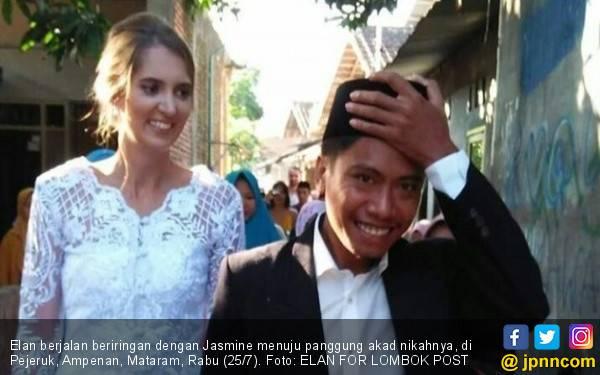Kisah Romantis Si Cantik Jasmine dan Pria Ampenan, Viral! - JPNN.com