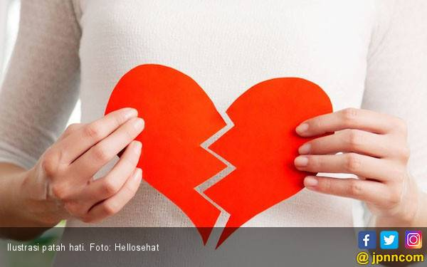 Waspadai Enam Bahaya Putus Cinta pada Kesehatan Anda - JPNN.com