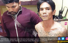 Yanto Ancam Istri dan Mertua Pakai Badik, Wuih Tatonya - JPNN.com