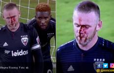 Cetak Gol Pertama di MLS, Wayne Rooney Berlumuran Darah - JPNN.com