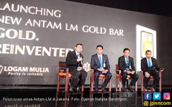Antam Luncurkan Emas Batangan dengan Pelindung CertiCard - JPNN.com