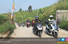 Wahana Tantang Konsumen Uji Keandalan Honda PCX Terbaru - JPNN.com