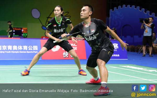 Hong Kong Open: Hafiz / Gloria Bungkam Duo Kidal Tuan Rumah - JPNN.com