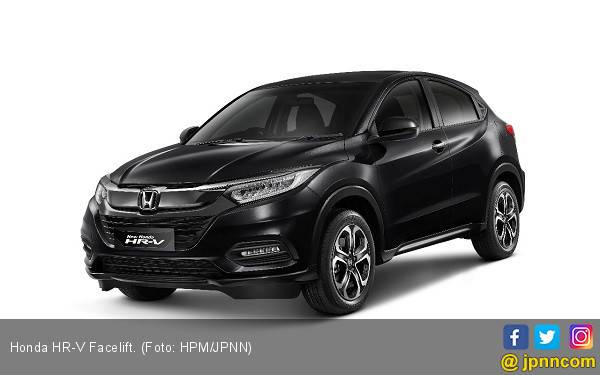 GIIAS 2018: Honda HR-V Facelift dengan Fitur Lengkap - JPNN.com