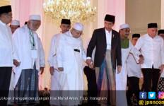 Jokowi - Kiai Ma'ruf Amin Disambut Selawat Badar - JPNN.com