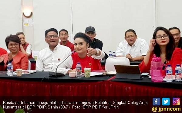 Krisdayanti Siap Mental Jadi Anggota DPR - JPNN.com
