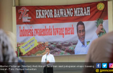 Mentan Amran Target Ekspor 500 Ribu Ton Bawang Merah - JPNN.com