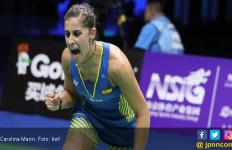 Kejuaraan Dunia BWF: Rekor Hebat Menunggu Marin dan Pusarla - JPNN.com