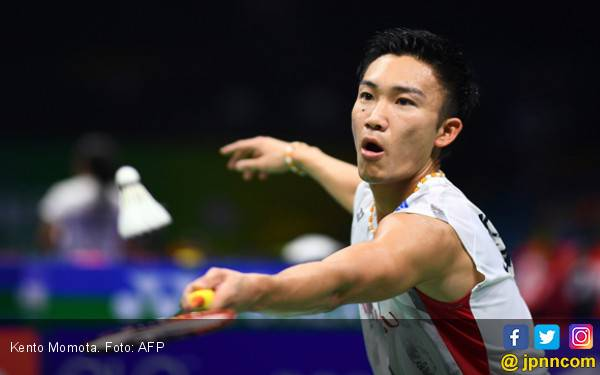 Kento Momota Taklukkan Lin Dan Dalam 74 Menit - JPNN.com