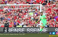 Debut Manis Alisson Becker: Liverpool 5, Napoli 0 - JPNN.com