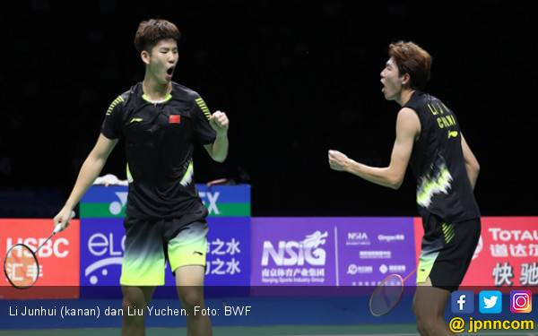 BWF World Tour Finals 2018: Hoki Tiang Listrik Tiongkok - JPNN.com