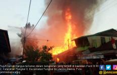 Kebakaran, Tujuh Rumah Ludes Terbakar, Dua Rusak Berat - JPNN.com