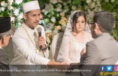 Disaksikan Ketua MPR, Tasya Kamila Sah Jadi Istri Randi - JPNN.com