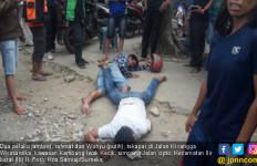 2 Pelaku Jambret Ditangkap, 1 Ditembak Mati, 1 Lagi Remuk - JPNN.com