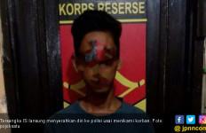 Ilham Dituduh Mencuri Ayam Lalu Dihujani Tusukan - JPNN.com