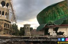 Pencarian Korban Gempa di Masjid Jabal Nur Disetop - JPNN.com