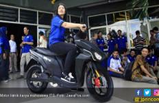 Menteri Nasir Pastikan Motor Listrik dari ITS Diproduksi - JPNN.com