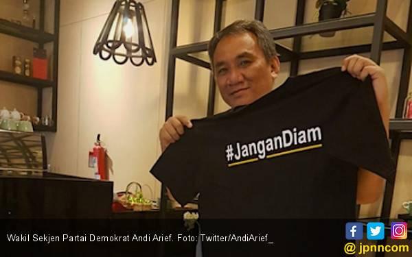 Andi Arief Sebut Jutaan Rakyat 'Tertipu' Agus Maksum Saksi Prabowo - Sandi - JPNN.com