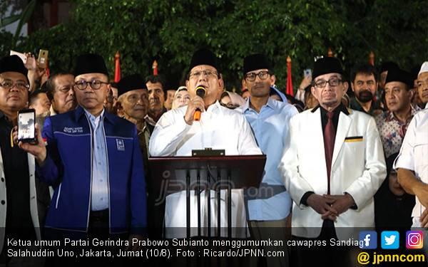 Prabowo Deklarasikan Sandiaga Uno, Pak SBY dan AHY ke Mana? - JPNN.com