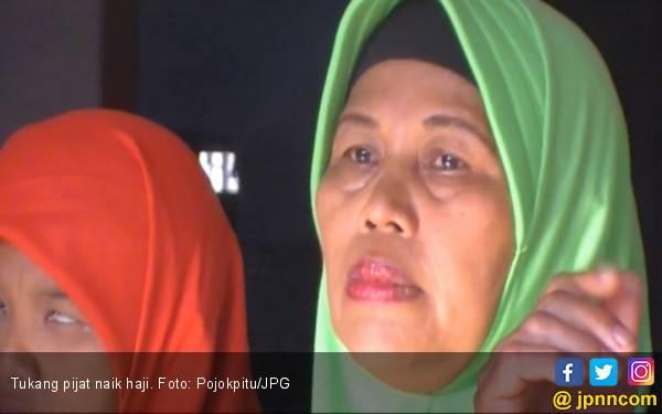 20 Tahun Menabung, Tukang Pijat Akhir Naik Haji - JPNN.com