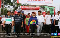 Jelang Asian Games, Menko PMK Lepas Jalan Sehat di Palembang - JPNN.com