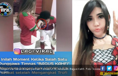 Kocak, Pemain Timnas U-16 Cium Tangan Via Vallen Usai Juara - JPNN.com