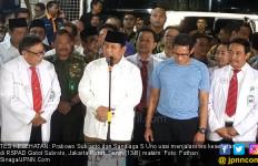 Prabowo: Nasib Saya dan Pak Sandi Terserah Para Dokter - JPNN.com