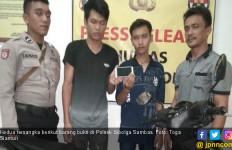 Dua Pelaku Jambret Diantarkan Keluarga ke Kantor Polisi - JPNN.com