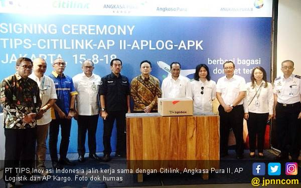 PT TIPS Gandeng Citilink, AP II, AP Logistik dan AP Kargo - JPNN.com