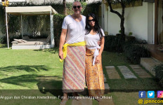 Anggun C Sasmi Akhirnya Resmi Dinikahi Kekasih - JPNN.com
