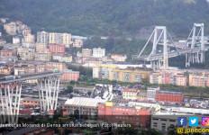 Italia Mulai Pembangunan Ulang Jembatan Morandi - JPNN.com