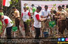 Isi Kemeriahan HUT RI ke 73, KLHK Tanam 800 Batang Mangrove - JPNN.com