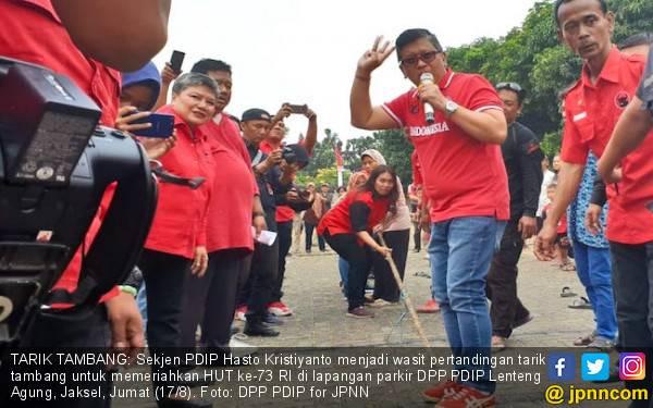 Indonesia Lampaui Target Asian Games, Hasto Sindir Roy Suryo - JPNN.com