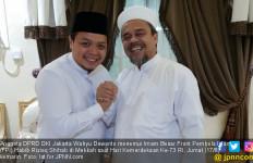 Habib Rizieq Doakan Politikus Gerindra Ini Kembali ke DPRD - JPNN.com