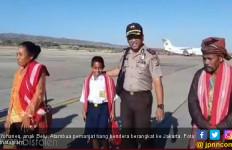 Anak Pemanjat Tiang Bendera ke Jakarta Temui Jokowi - JPNN.com