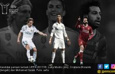 Modric, Ronaldo dan Salah jadi Kandidat Pemain Terbaik UEFA - JPNN.com