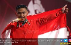 Demi Indonesia, Eko Yuli Irawan Berusaha Angkat Beban 310 Kilogram - JPNN.com