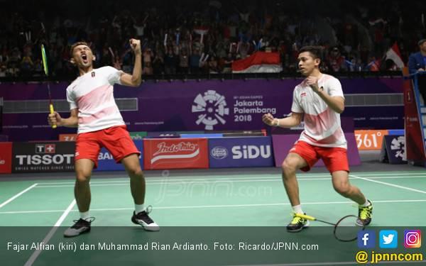 38 Menit Saja! Fajar / Rian Juara di Syed Modi International - JPNN.com