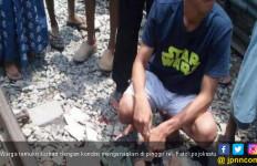Pemotor Kritis Ditabrak KA di Perlintasan Tanjungbalai - JPNN.com