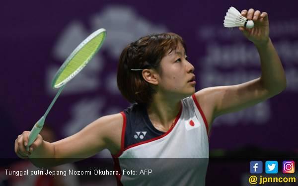 Baru 20 Menit, Tai Tzu Ying Mundur, Nozomi Okuhara ke Final - JPNN.com