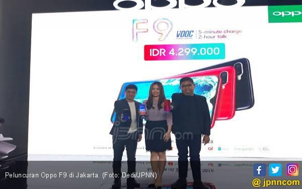 Baru Dirilis, Oppo F9 Sukses Lampaui Popularitas F7 - JPNN.com