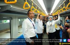 Menhub: LRT Sumsel Layak setelah Uji Commissioning Selesai - JPNN.com