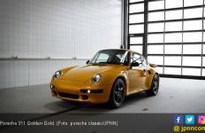 Proyek Lintas Waktu Porsche 911 Golden Gold - JPNN.com