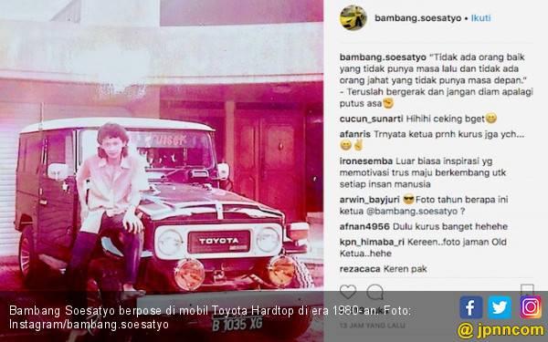 Bamsoet Unggah Foto Jadul, Netizen Kelepek-kelepek - JPNN.com