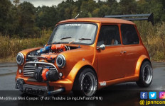 Modifikasi Mini Cooper: Pakai Mesin Honda, Ngacir! - JPNN.com
